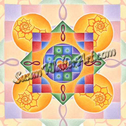 Solfeggio Mandala 219Hz, Comprehension of our Relationships