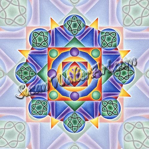 Solfeggio Mandala 432Hz, Metamorphosis