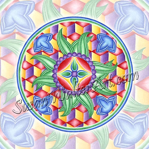 Solfeggio Mandala 693Hz, Connection to Infinite