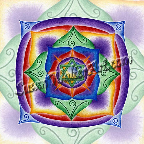 Solfeggio Mandala 372Hz, Trust your Journey