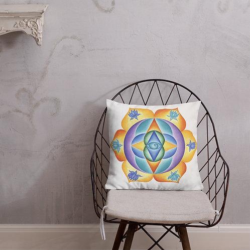 Premium Pillow Solfeggio Mandala 111Hz