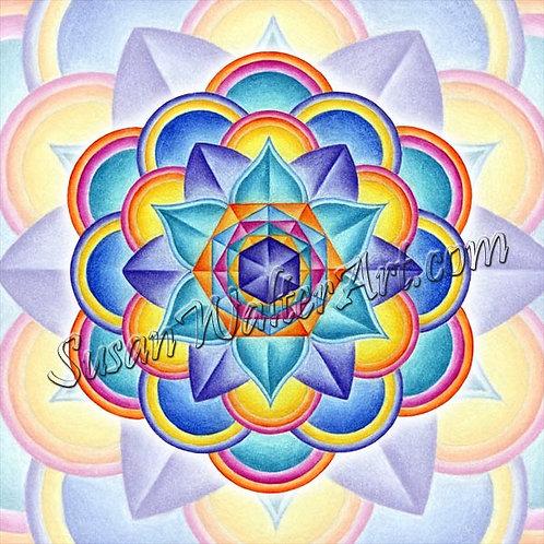 Solfeggio Mandala 567Hz, DNA Link