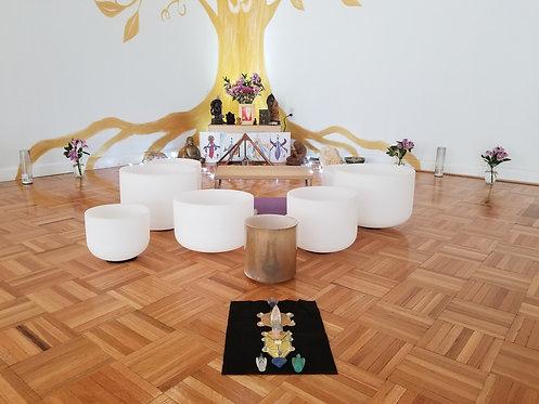Online Solfeggio Crystal Bowl Meditation