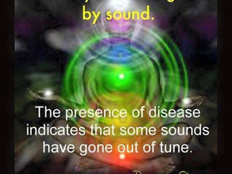 The body is held together by sound