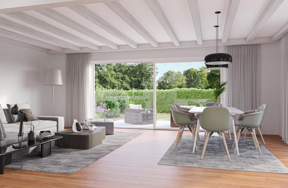 Perspective 3D - Intérieur villa B