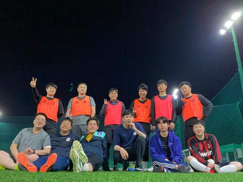 사내 풋살팀 단체사진