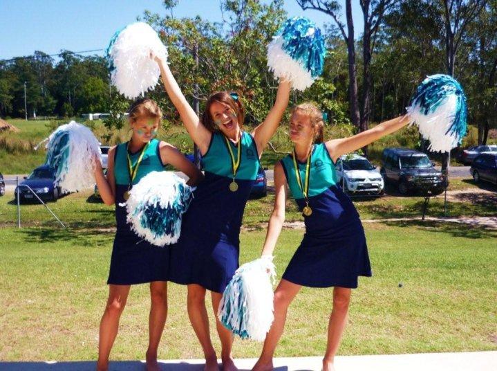Morris Cheerleaders