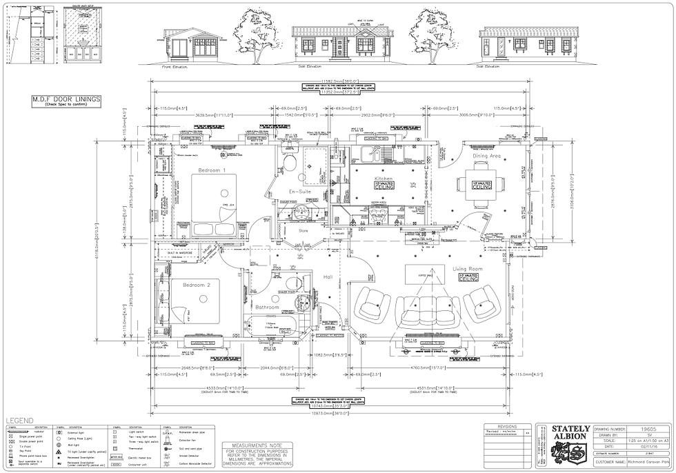 Plot 32 CAD Drawing