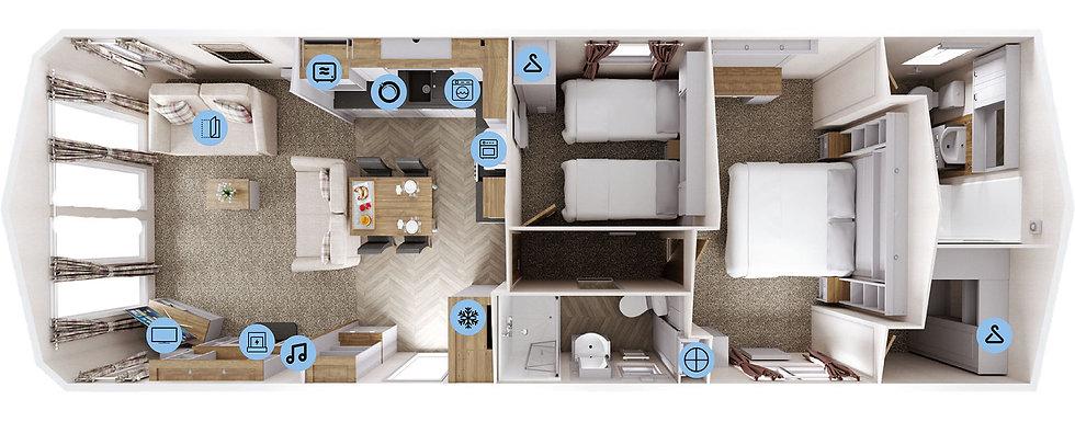 Sheraton Elite Floor Plan