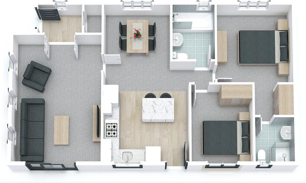 Prestige Avanti 3D Floor Plan