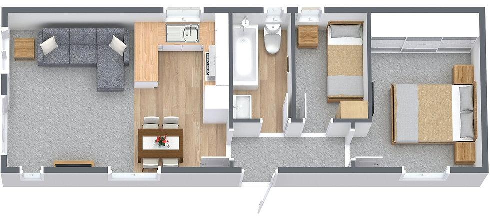 Plot 13 3D Floor Plan