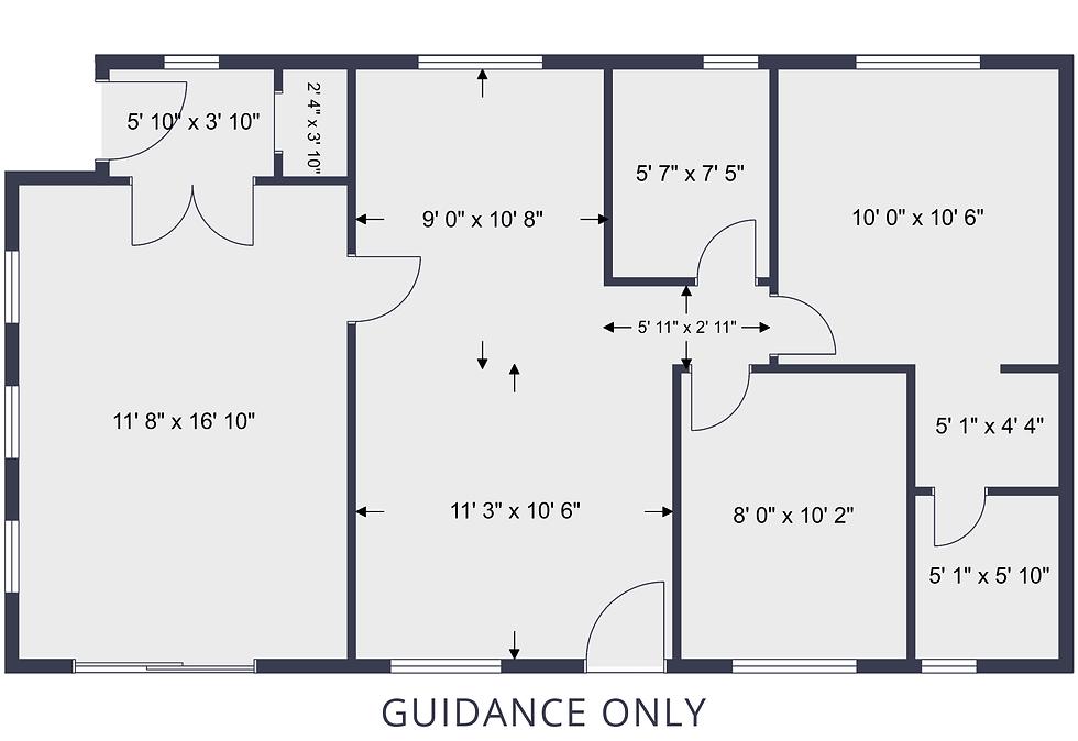 Prestige Avanti Plan with dimensions