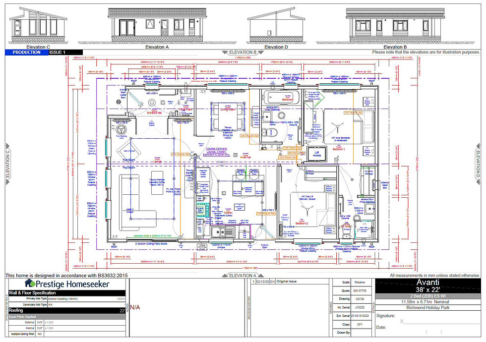 Prestige Avanti CAD Floor Plan