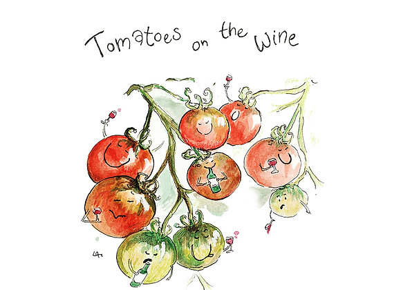 Tomatoes on the Wine