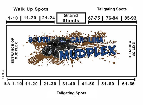 Tailgating Spots April 17th 1-25