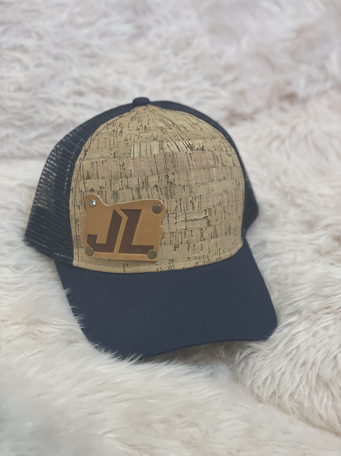 Snapback Trucker Hat Cork Front