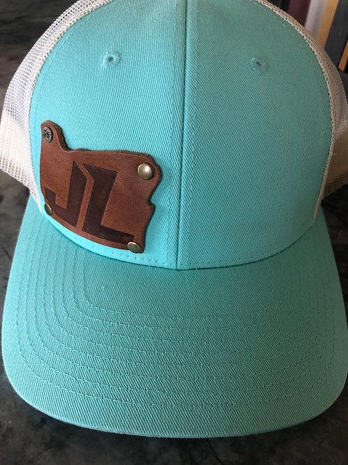 Snapback Trucker Hat Teal