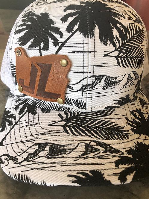 Snapback Trucker Hat Hawaiian