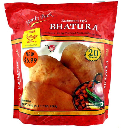 Deep Bhatura Family Pack 20pcs X 8