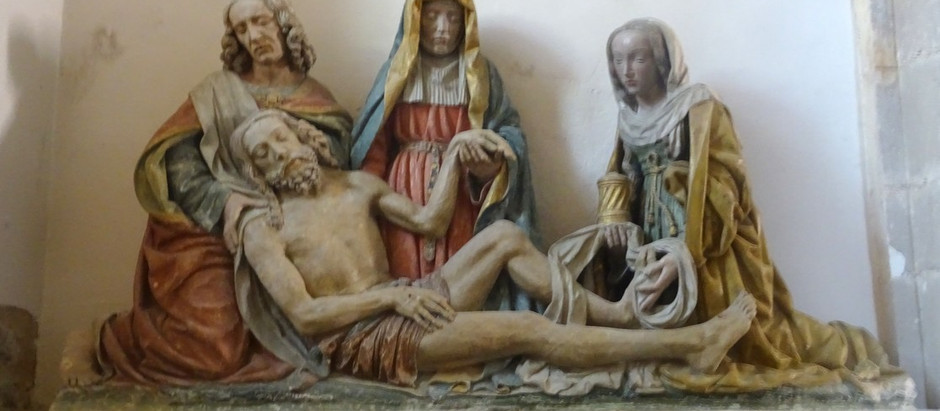 Balade en Aveyron : la Vierge de Pitié de Carcenac et la sculpture gothique
