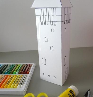 La tour de Peyrebrune... à construire