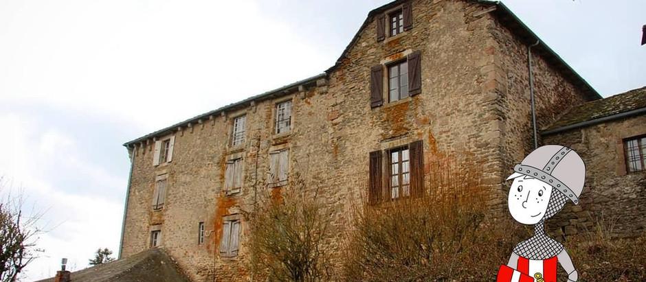 Balade en Aveyron :  la commanderie des Canabières