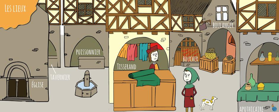 Une enquête médiévale en famille !