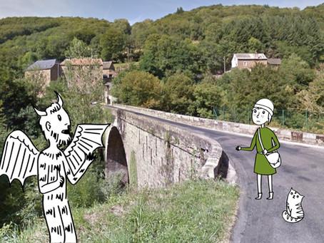 Le pont du Diable... de Bonnecombe