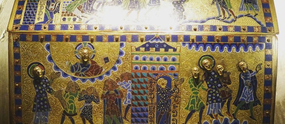 [Détours en Corrèze] La châsse reliquaire de Gimel-les-Cascades... et l'art de l'émail au Moyen-âge