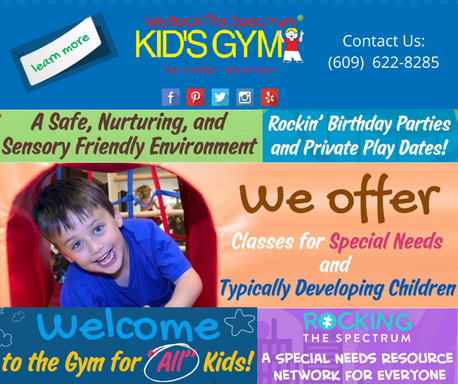 We Rock The Spectrum Kids Gym