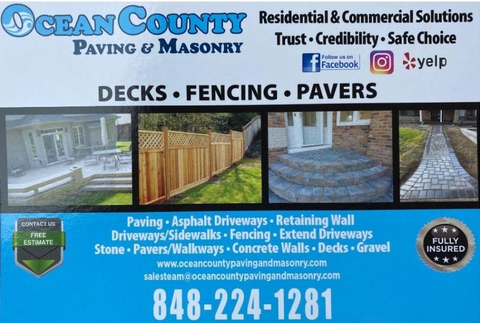 Ocean County Paving and Masonry