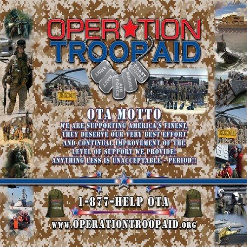Troop Aid Event