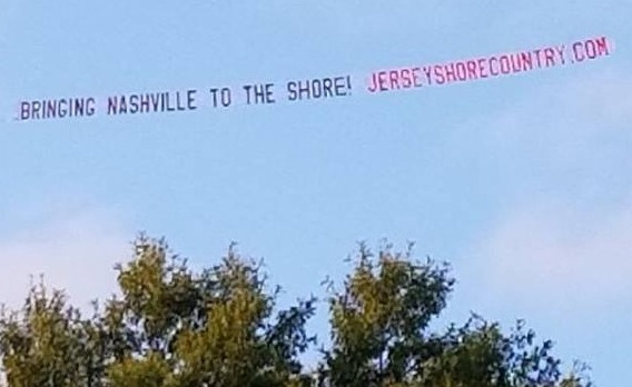 Fly Over Banner Jersey Shore Country
