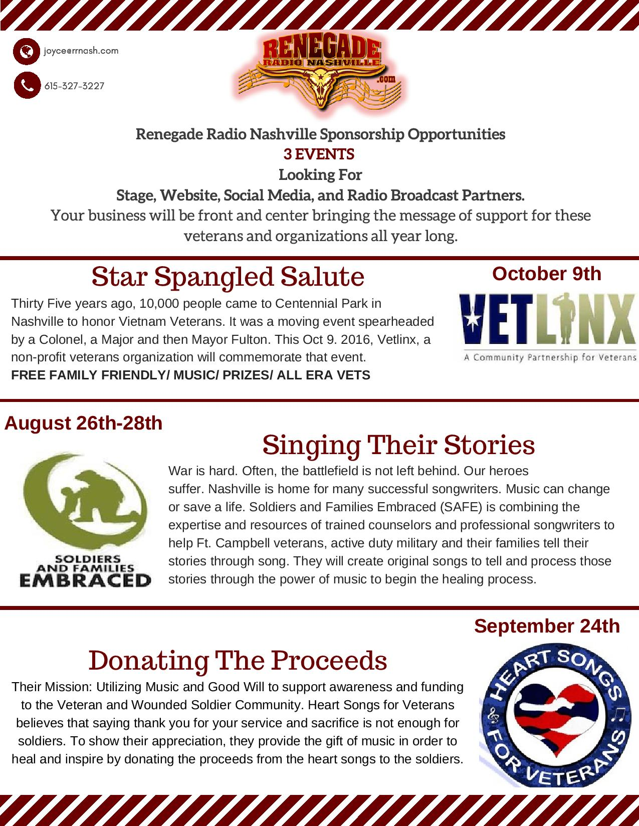 Veterans Star Spangled Salute