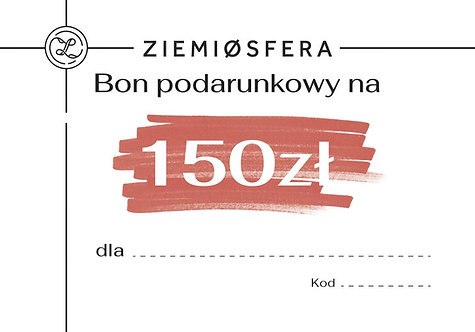 Gift card for 150 PLN