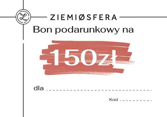 Bon podarunkowy na 150 zł
