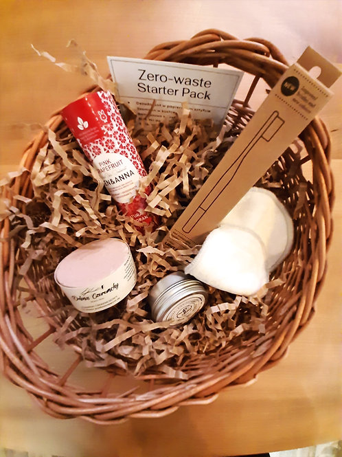 Koszyk Zero-waste starter pack