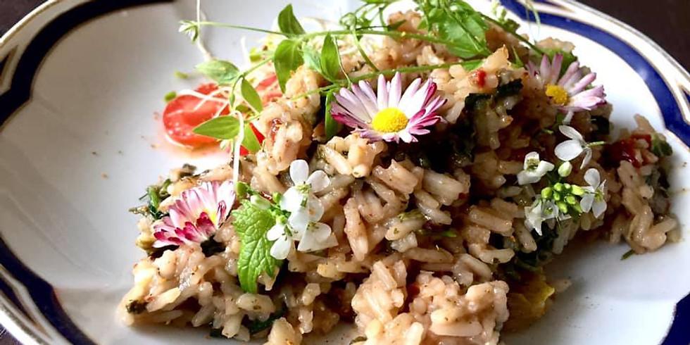 Dzika kuchnia - roślinne warsztaty kulinarne
