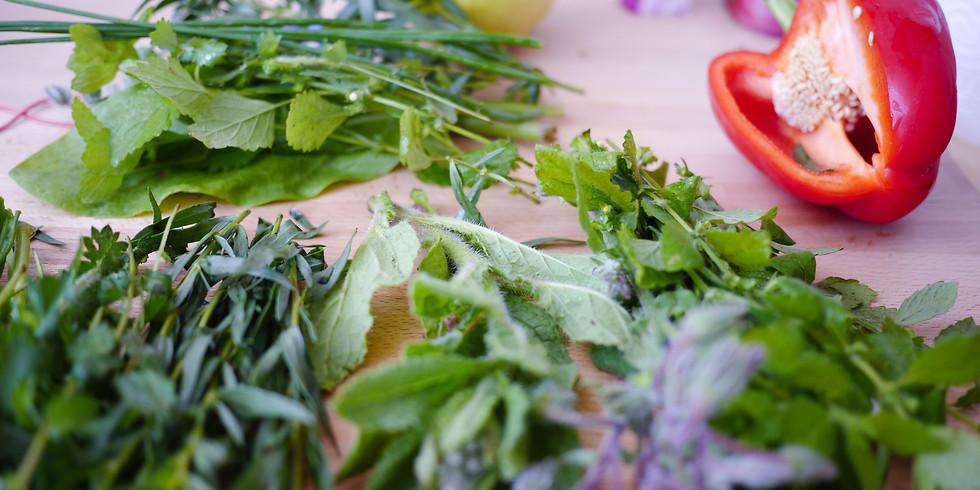 Dzikie rośliny w kuchni