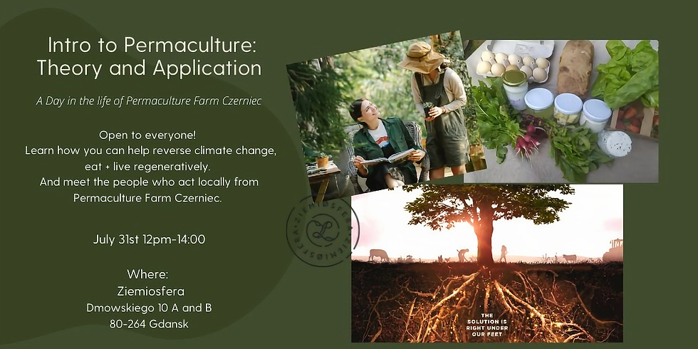 Permaculture: Theory, Application and tasting!