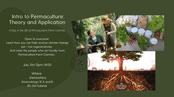 31/07/21 - Permaculture: Theory, application and tasting! (EN)