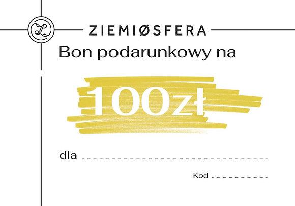 Bon podarunkowy na 100 zł