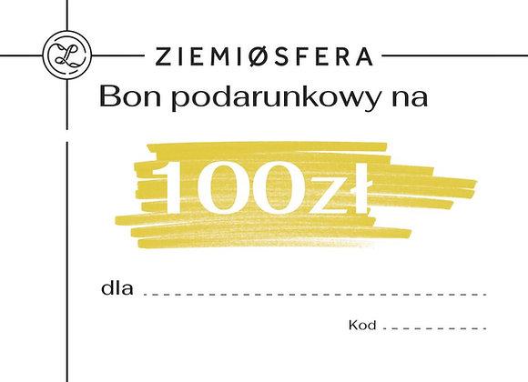 Gift card for PLN 100