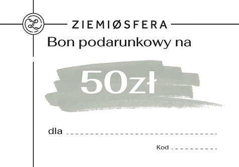 Gift card for PLN 50