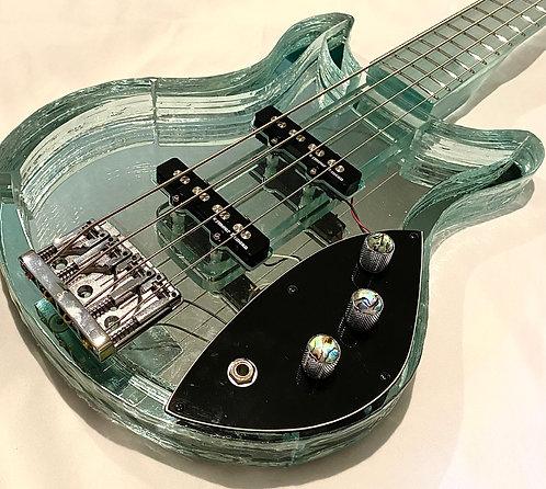 Glass Bass Guitar