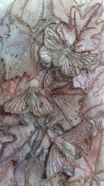 Moths on Leaves