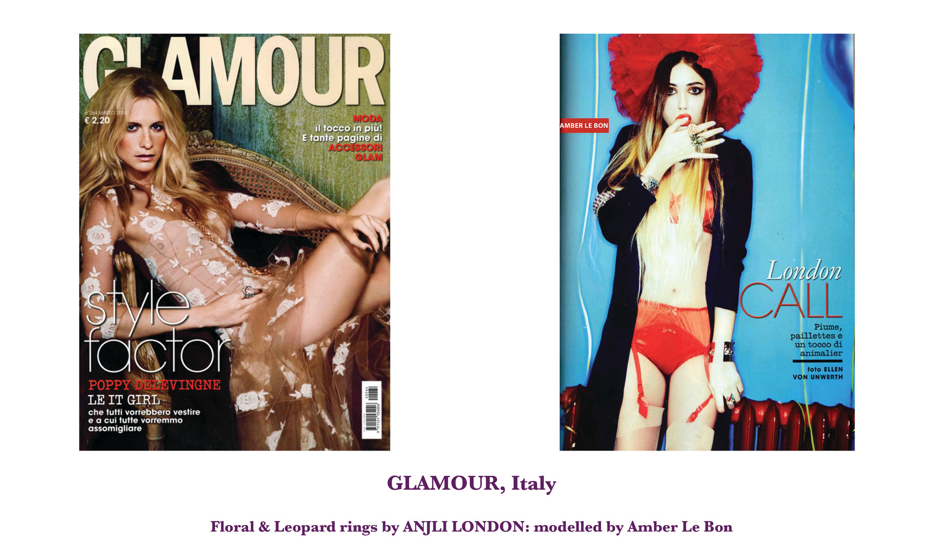 GLAMOUR, Italy