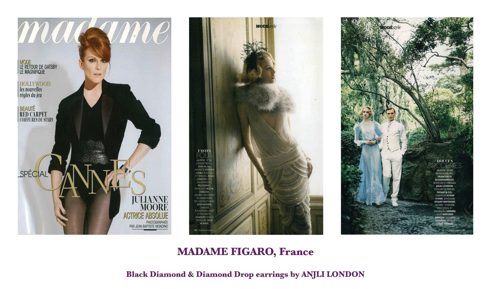 MADAME FIGARO, France