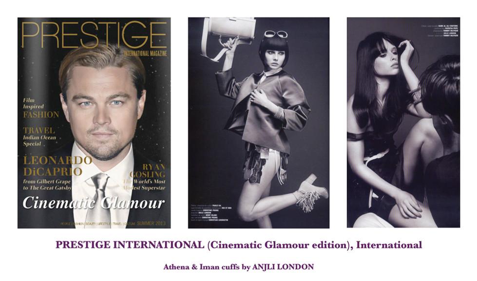 PRESTIGE INTERNATIONAL, International