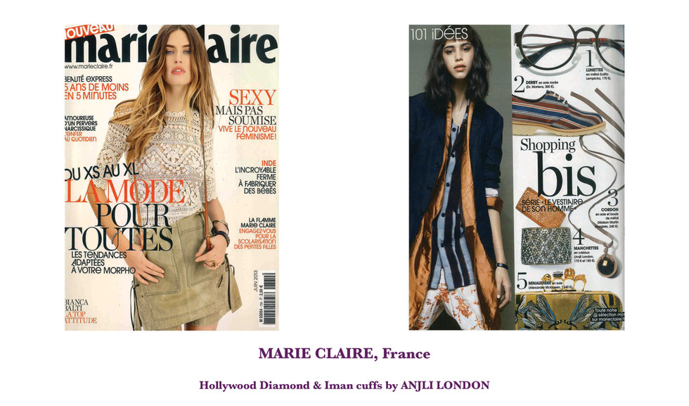 MARIE CLAIRE, France